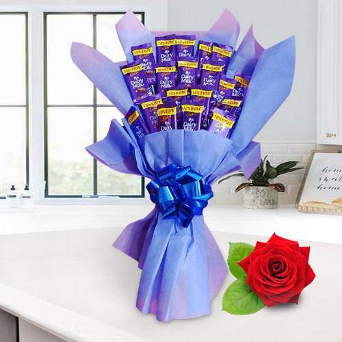 Sumptuous Cadbury Dairy Milk Chocolate Bouquet