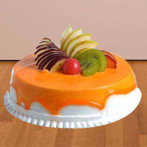Tasty Fresh Fruit Cake