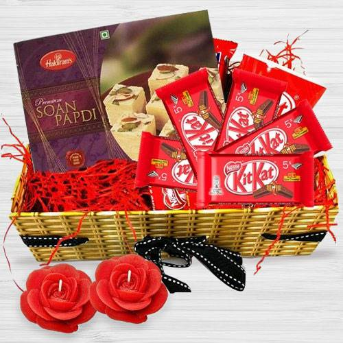 Generous Gift Basket of Festive Assortments