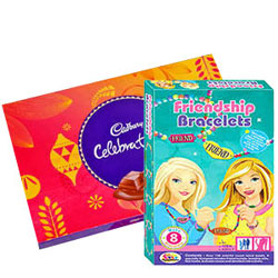 Lip-Smacking Cadbury Celebrations with Barbie Bracelet