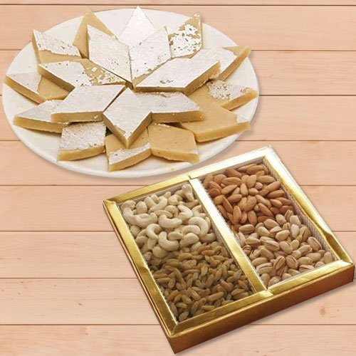 Yummy sweet and dry fruit pack
