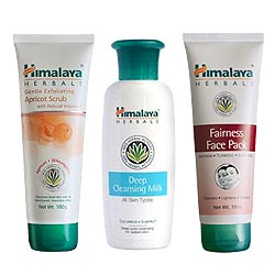 Fabulous Himalaya Herbal 3-in-1 Face Care Pack
