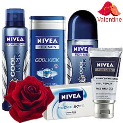 Shower Hour for Men with Nivea Gift Hamper for Men