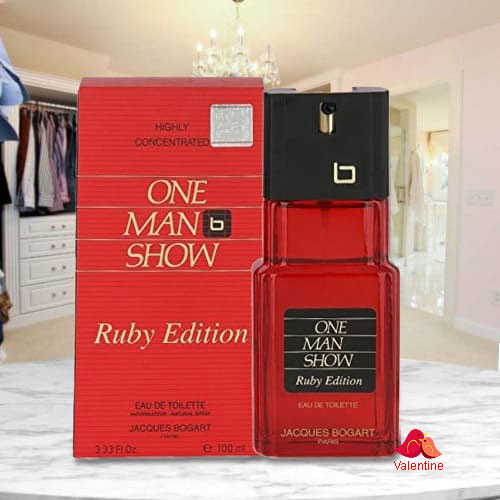 Attractive Fragrance of Bogart One Man Show Ruby Edition Perfume for Men