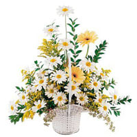 Basket Arrangement of Mixed Florals