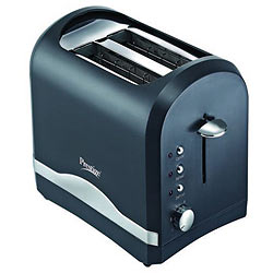 Cool Prestige Popup Toaster Stainless Steel in Grey with Silver