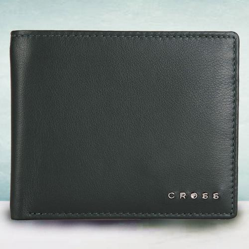 Remarkable Green Mens Leather Wallet from Cross