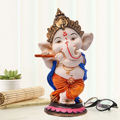 Handcrafted Lord Ganesha Polyresin Sculpture