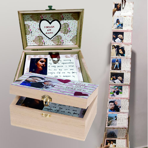 Exclusive Infinity Box of Personalized Message n Photos