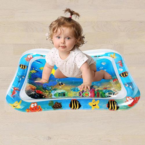 Exclusive Inflatable Water Tummy Time Playmat for Babies