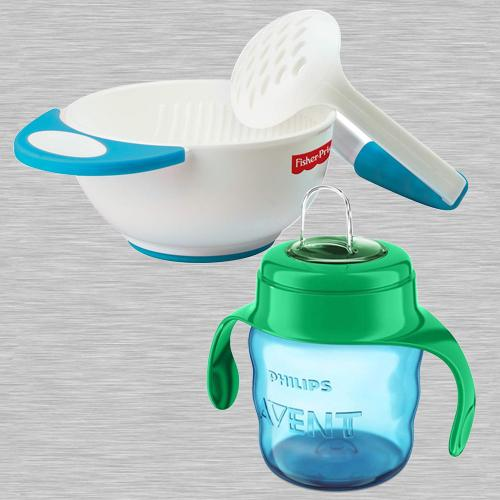 Wonderful Fisher-Price Bowl Set N Philips Avent Spout Cup