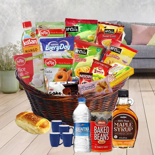 Angelic Gourmet Star of the Day Breakfast Gift Hamper