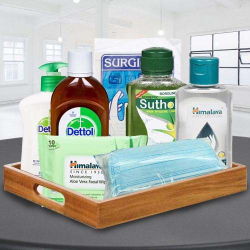 Remarkable Safety  N  Hygiene Gift Basket for All