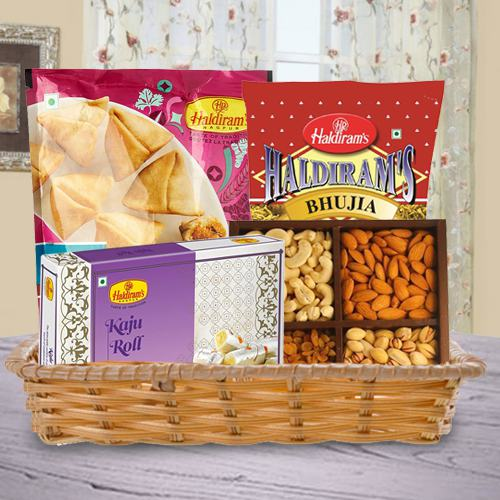 Smashing Treat Basket of Love and Happiness