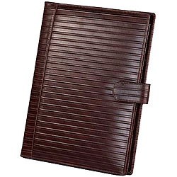 Genuine Leather Tan Colored Writing Cum Conference Pad from Leather Talk
