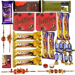 Heavenly Rakhi Chocolate