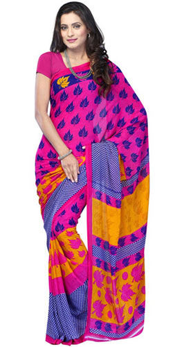 Brindled Beaut Chiffon Saree