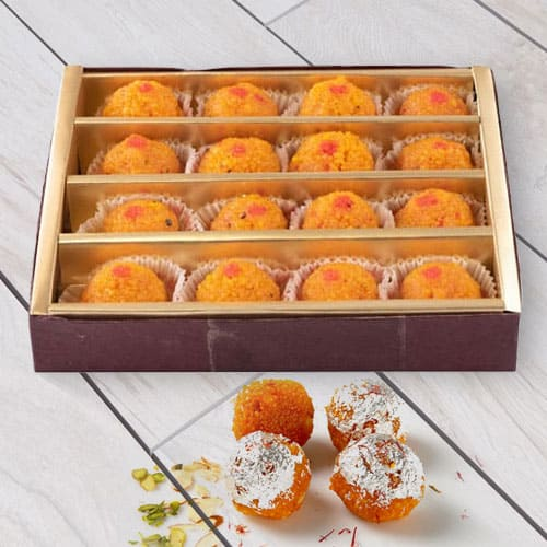Motichur Ladoo from Haldiram / Reputed Sweet Shop