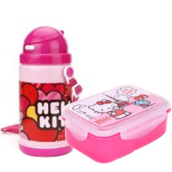 Fabulous Kids Essential Hello Kitty Tiffin Set