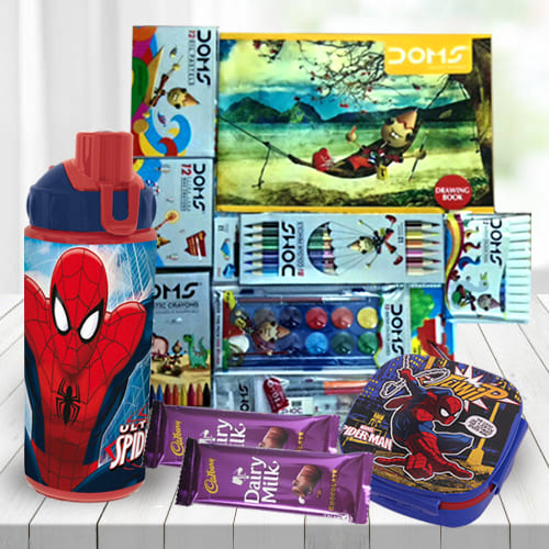 Special Spiderman Kids Gift Combo