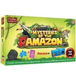 Lovely Madzzle Mysteries of the Amazon from the House of Mad Rat Games