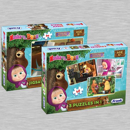Remarkable Puzzle Set of 2 for Kids