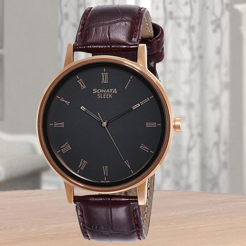 Marvelous Sonata Sleek Analog Mens Watch