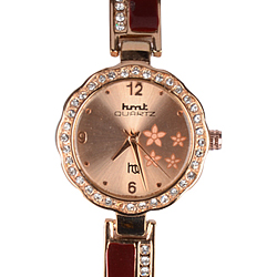 Incomparable Two Tone Wrist Watch for Women