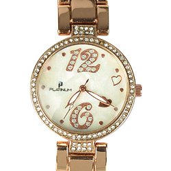An Exclusively Trendy Ladies Watch adorned with Dazzling Stones
